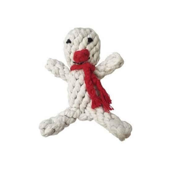 hondenspeelgoed sneeuwman