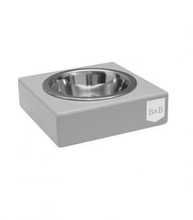voerbak voor honden grijs