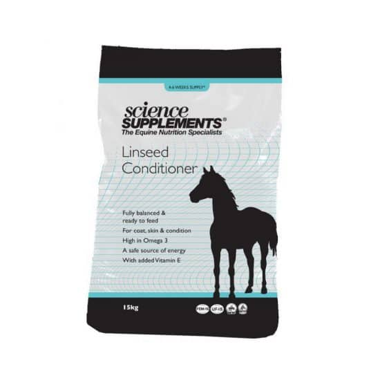 Micronised Linseed Conditioner 15kg For Horses