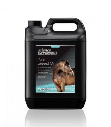 Pure Linseed Oil 5l For Horses