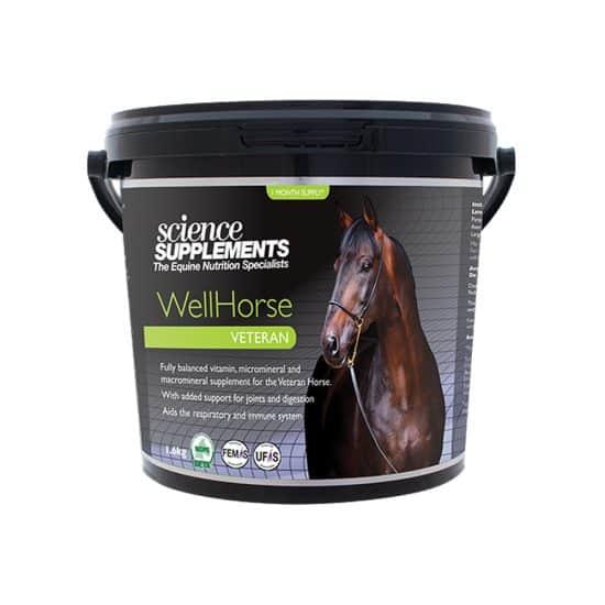 WellHorse Veteran1.6kg Horse feed balancer