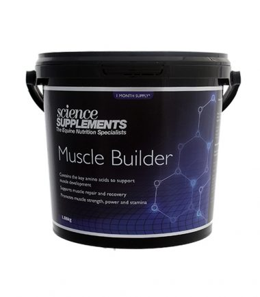 Muscle Builder voor paarden science supplements